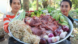 How to cook beef grilled with shrimp paste recipe - Cooking and Eating