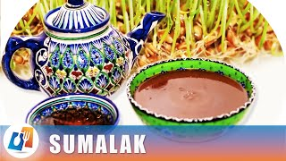 СУМАЛАК - ДЕСЕРТ без САХАРА из пророщенной пшеницы 🍴♨ Узбекская кухня