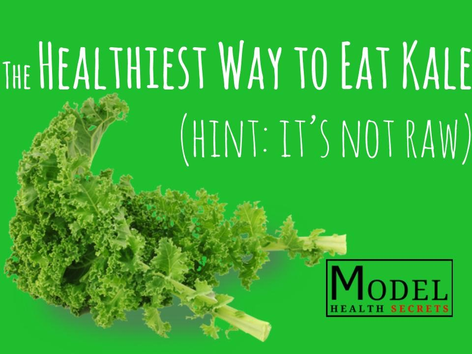 How to eat kale raw