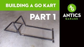 Building a Go Kart, Part 1 - Design, Planning, and Building the Frame