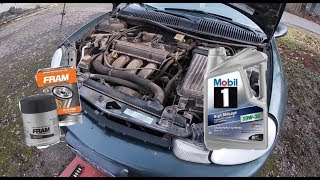 2001 Plymouth / dodge neon oil change
