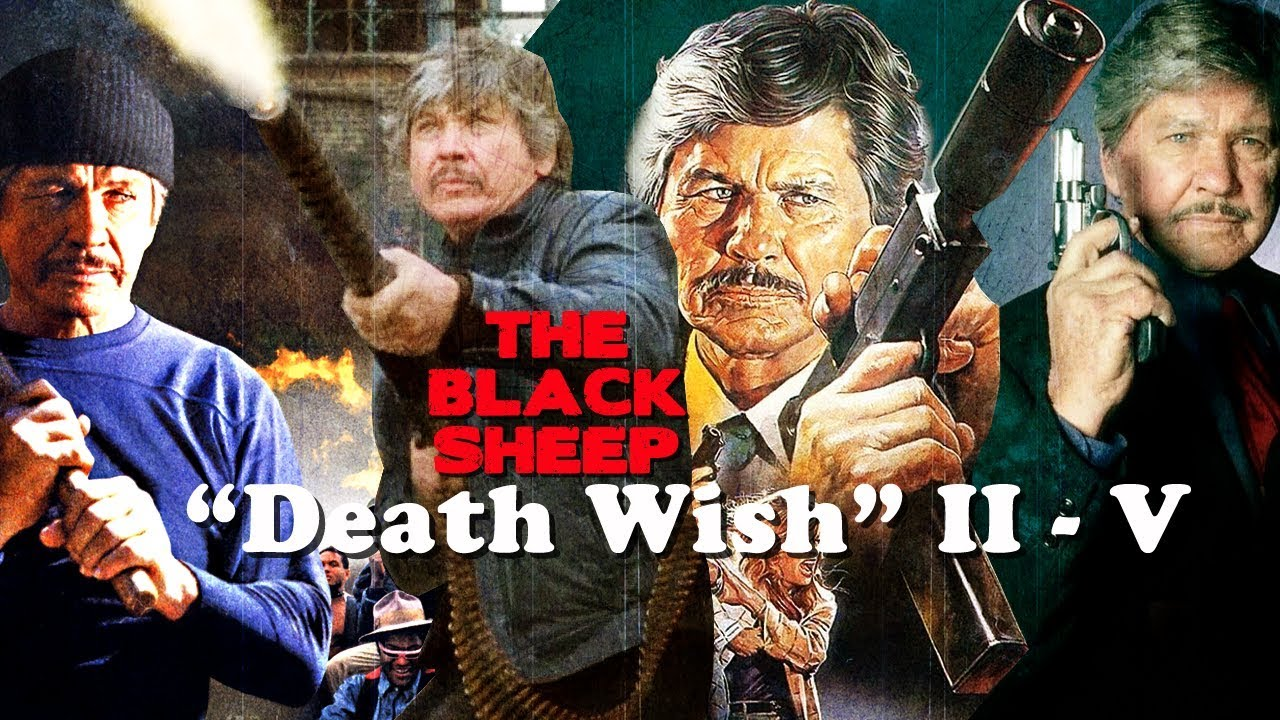 death wish 2 5 the black sheep charles bronson revenge action