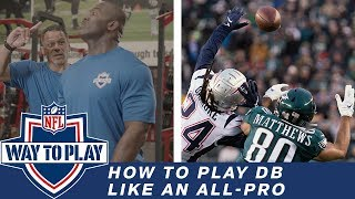 How to Play Defensive Back like an All-Pro with Hall of Famer Rod Woodson