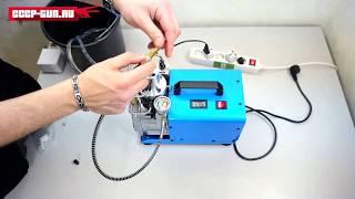 Электрический Компрессор ВД Coral YH 1.8 kW для PCP винтовок  ( Видео - Обзор )