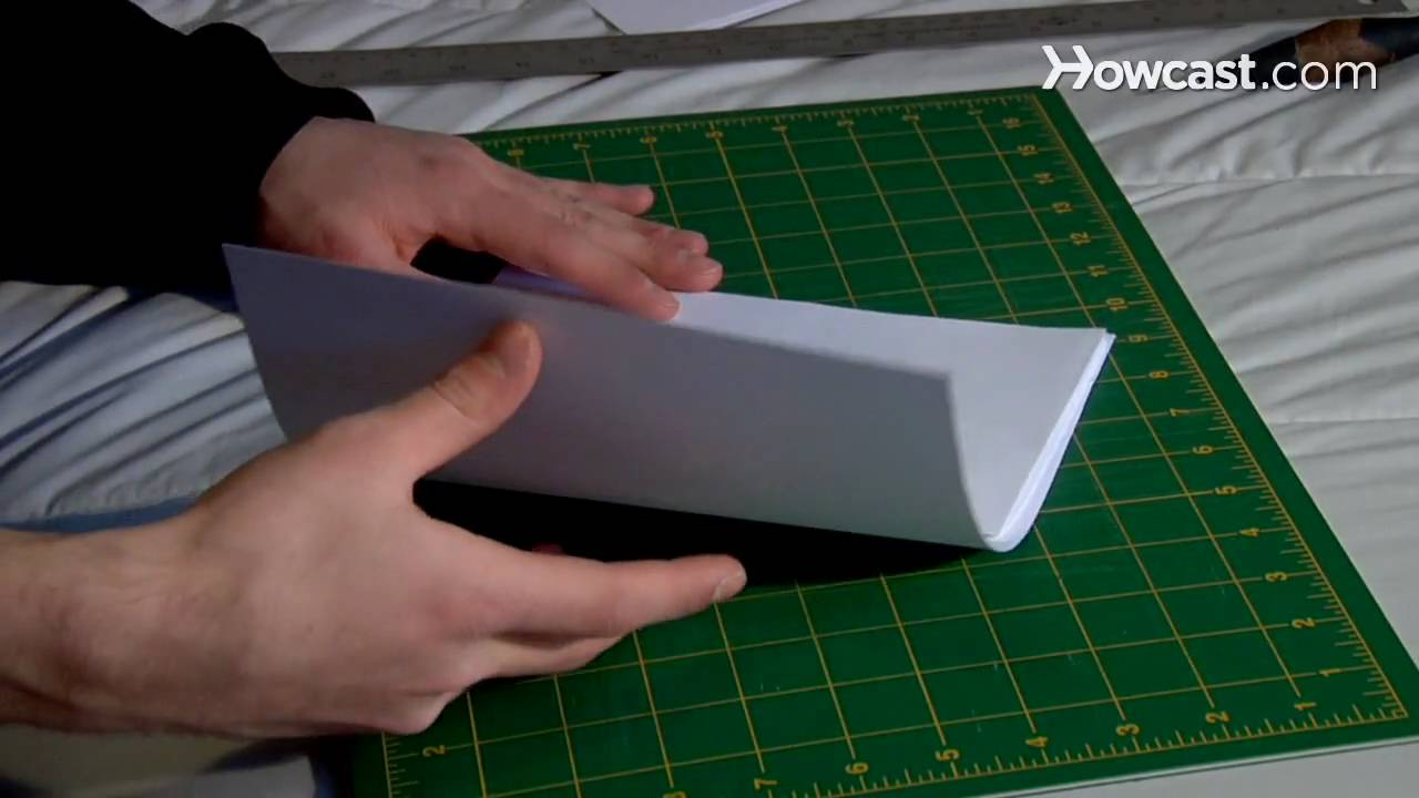 How To Bind A Book You