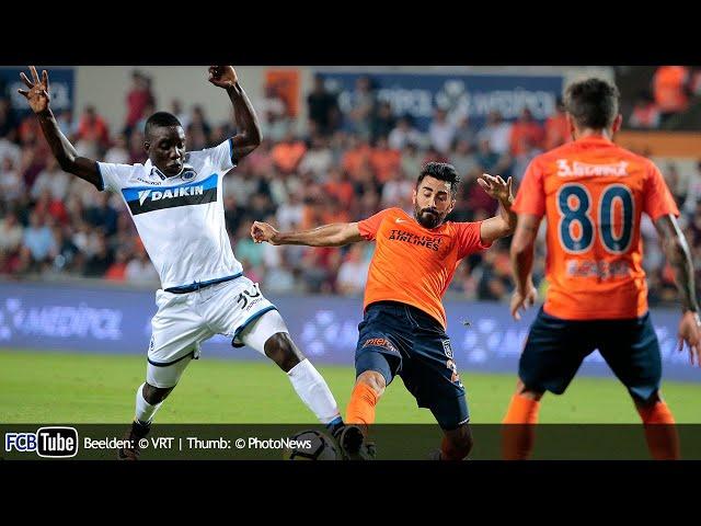 2017-2018 - Champions League - 02. 3de Voorronde - Istanbul Basaksehirspor - Club Brugge 2-0