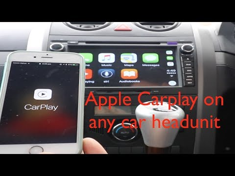 Apple Carplay Usb Dongle For Android Os Youtube