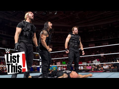 Thumbnail: 5 Legends The Shield eliminated: List This!