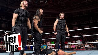 5 Legends The Shield eliminated: List This! by : WWE