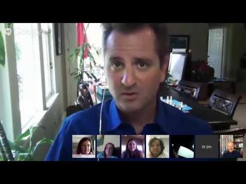 Dr. Bill and Jim Sears Juice Plus Hangout Part 1