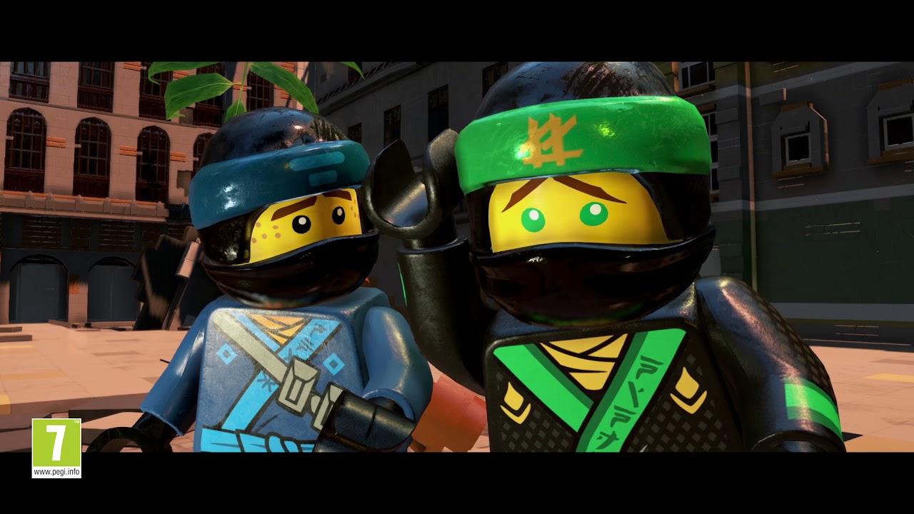 La Lego Ninjago Pelicula El Videojuego Trailer Del Lanzamiento