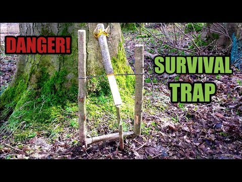 Lethal Windlass Animal Trap ~ Primitive ~ Survival