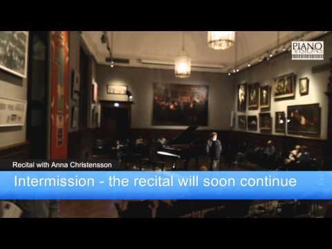 Pianoafton med Anna Christensson - Konstakademien Stockholm
