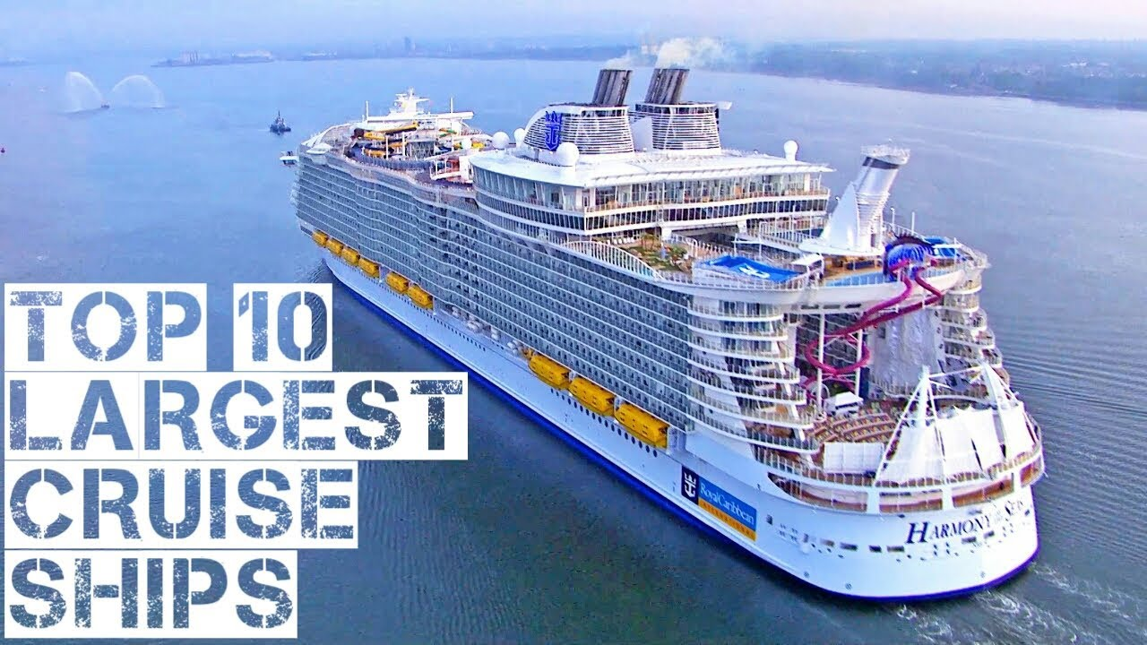 Top 10 Largest Cruise Ships in 2018 - YouTube