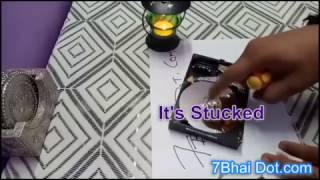 How to open Hard Drive | How to fix a problem | Repair | Adjust | beeping noise