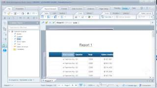 Add a row or column to a table: SAP BusinessObjects Web Intelligence 4.0
