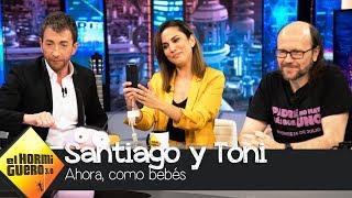 ¿Cómo son Toni Acosta y Santiago Segura como bebés? - El Hormiguero 3.0