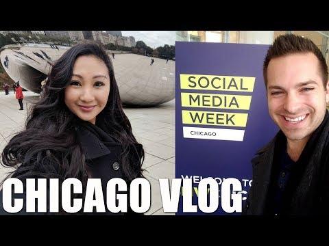 CHICAGO BEAN, SOCIAL MEDIA WEEK+ FAMILY VLOG!
