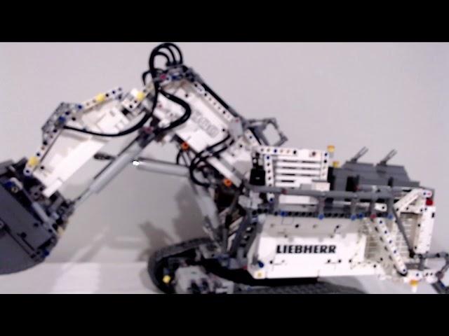Verrat an keinen Werten- Das dritte von drei Reviews zu dem Lego Liebherr Excavator