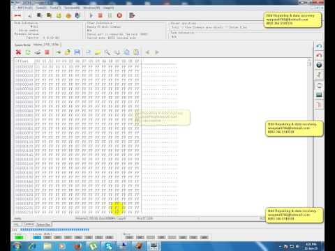 How to use MRT Pro to fix Seagate SIM Error 2044 - P list damaged-Part 1