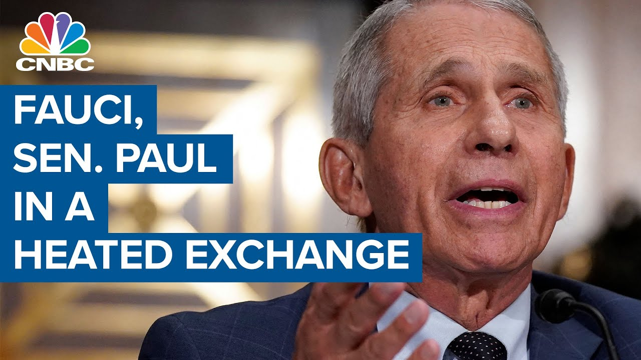 Dr. Anthony Fauci to Sen. Rand Paul at hearing: You do not know what you're talking about