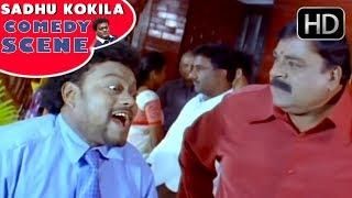 Doddanna and Son Sadhu Kokila Super Comedy Scene | Bullet Prakash | Latest Kannada Comedy Scenes