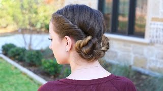 How to Create Twistback Buns in Your Hair? | Vintage Hairstyle Tutorials
