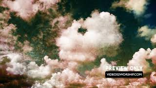 Grunge Textured Clouds Worship Background Loop