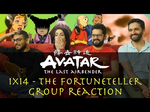 Avatar: The Last Airbender - 1x14 The Fortuneteller - Group Reaction