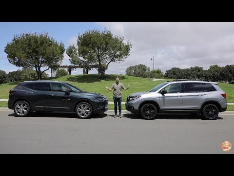 Mid-Size Crossover SUV Comparison – Chevy Blazer vs Honda Passport