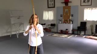 Kyudo with The imperial bow maker for the emperor of Japan