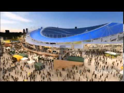 Nine News Sydney: Allianz Stadium Upgrade (19/5/2014)