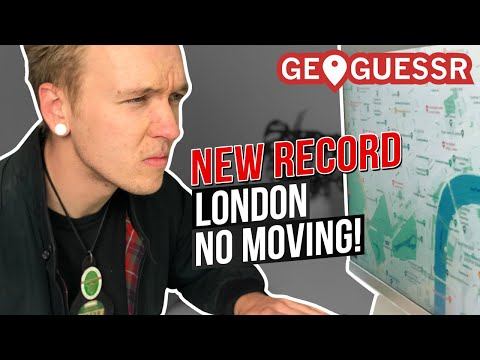 Taxi Driver SMASHES London Geoguessr Record!