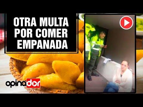OTRA MULTA POR COMER EMPANADA  ( LAS EMPANADAS MAS CARAS DEL MUNDO )