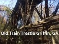 Exploring an Old Train Trestle in Griffin, GA