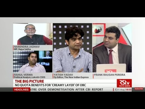 The Big Picture -  Govt approves proposal to exclude creamy layer of OBC from quota benefits