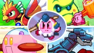 Kirby Mass Attack - All Kirby Attacks (Kirby Quest)