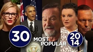 Top 30: ABC News' most watched YouTube clips in 2014