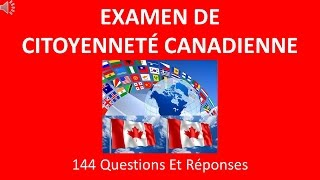 Examen De Citoyenneté Canadienne 2016