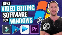 Best Video Editing Software for Windows PC - 2019!