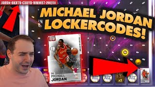 NBA 2K19 My Team FREE MICHAEL JORDAN LOCKERCODES! HOW TO HIT THE CORNER SPOT ON BALL DROPS!
