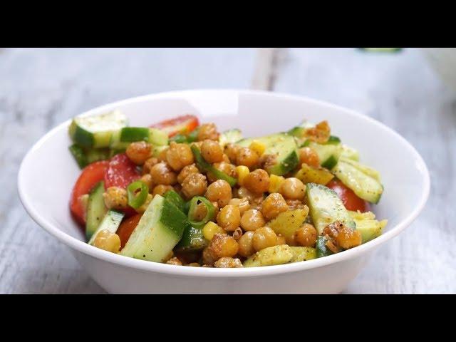 Kavrulmuş Nohutlu Salata Tarifi, Nasıl Yapılır?