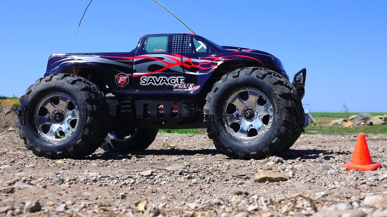 RC ADVENTURES 6s Lipo HPi Savage Flux HP Monster Truck New Track Testing