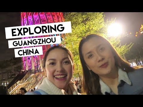 GUANGZHOU, CHINA Part 2 -  KareNen Travel Vlog with Chandell + Canton Tower + Pearl River