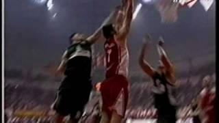 Olympiakos vs PAO 86-78 Greek League 2001