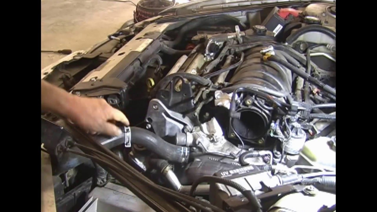 1998 Pontiac Grand Prix Engine Coolant Sensor Location