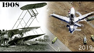 Aviation Disasters of the Century By Year (From 1908 to 2012)
