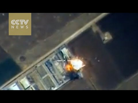 Russia releases video of raids on Syria militants