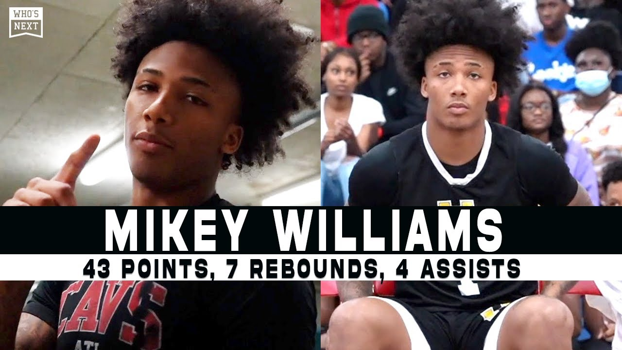 Mikey Williams Dropped a TOUGH 43 Points Tonight in Nashville, TN!