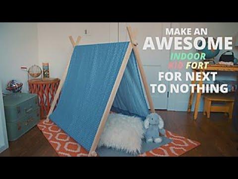 Diy Indoor Kid Fort Easy Does It Hgtv
